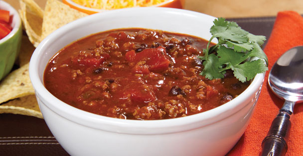 An easy chili recipe made with traditional chili ingredients.